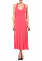 Druguay Maxi kjole (Coral)