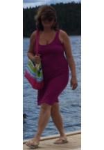 Riyala Maxi kjole kort (Purlpe)
